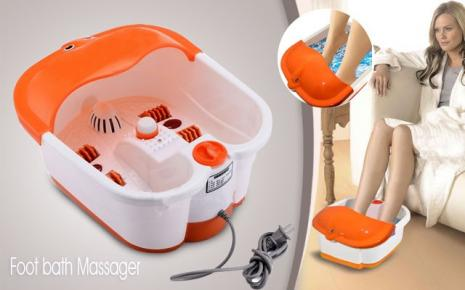 FOOT BATH MASSAGER SPA WITH HEAT, VIBRATION, INFRARED WITH ROLLER FUNCTION