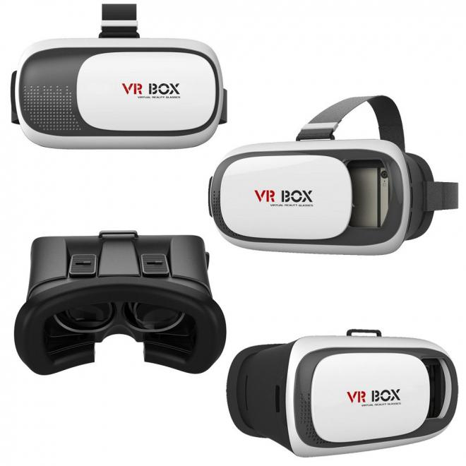 VR BOX 2 Virtual Reality 3D Glasses Game Movie 3D Glass For iPhone Android Mobile Phone