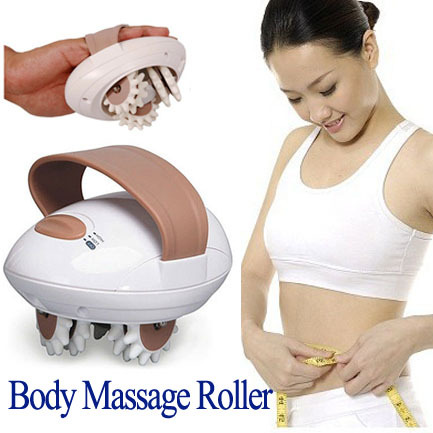 Body Relax Massager Cellulite Control Roller Massager Thigh Body Slimming Health Beauty Care