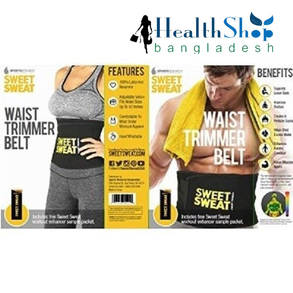 Sweat Slim Belt,Orginal now Available in Bangladesh