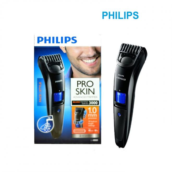Philips Beard Trimmer Cordless for Men QT4001/