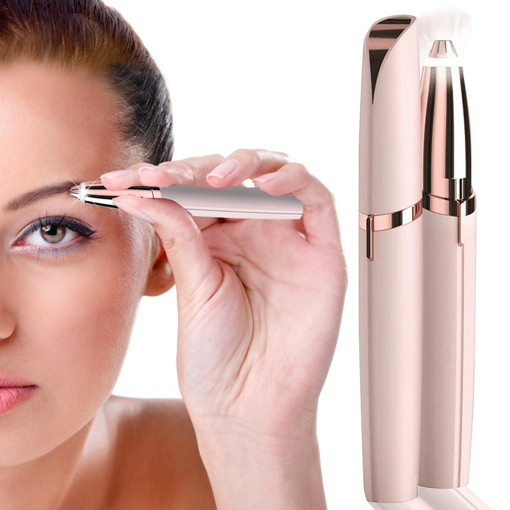 Finishing Touch Flawless Brows Trimmer to Painlessly