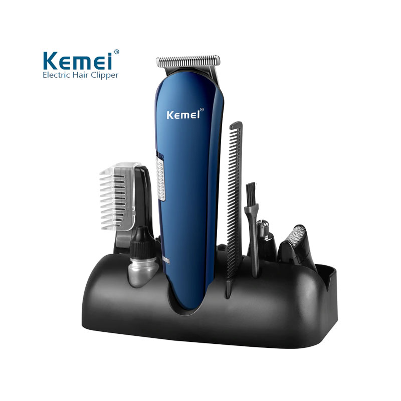Kemei 8in1 KM-550 Hair Clipper and Beard Trimmer