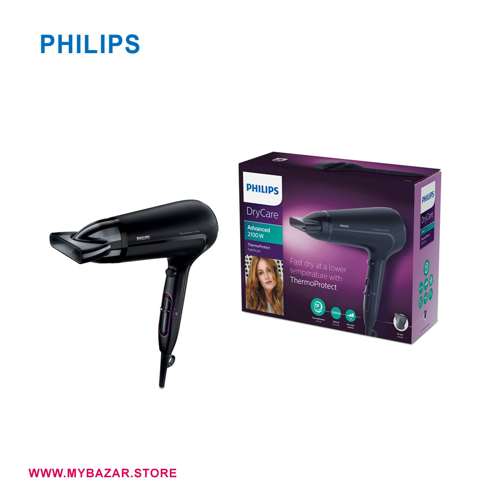 Philips Dry Care ionic Thermo Protect Hair dryer 2100W