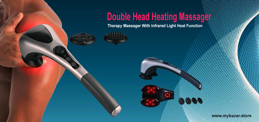 Double Head Body Massager