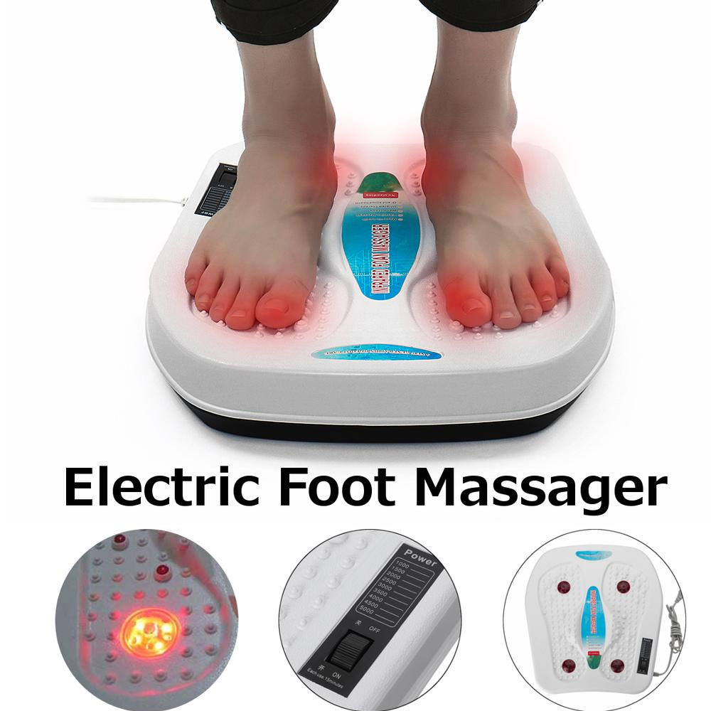 Electric Infrared Vibration Foot Massager Physiotherapy Vibrator