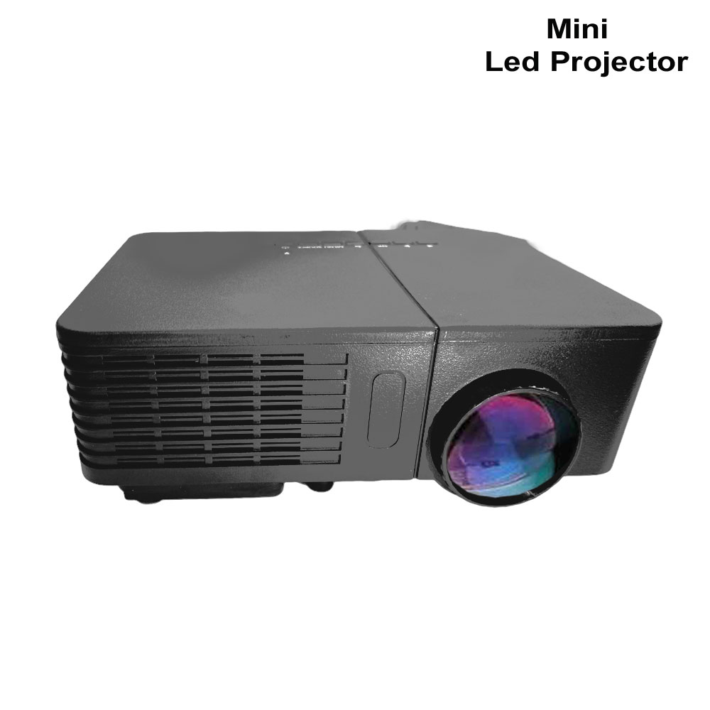 Portable mini led projector HD 1080P