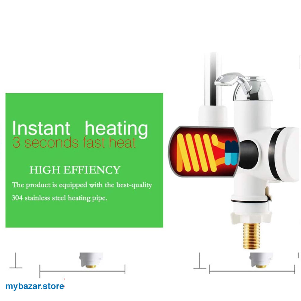 Electric Kitchen Water Heater Tap,Instant Hot Water Faucet Heater