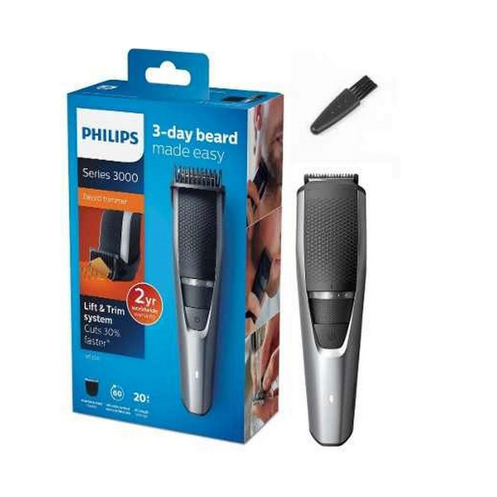 Philips Beard trimmer BT3216/13 60 minutes of cordless use or plug it
