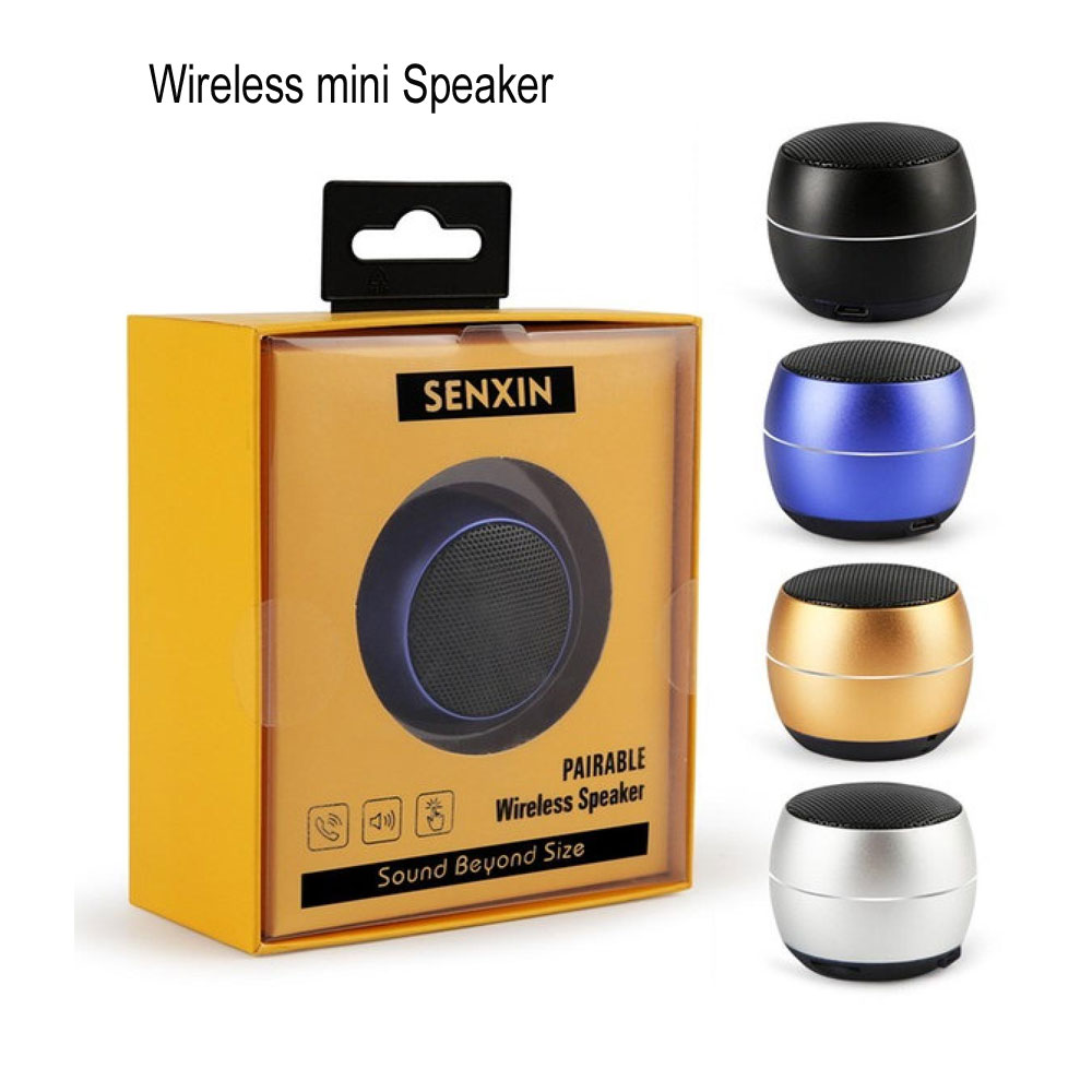 SENXIN Portable Bluetooth Wireless Speaker with HD Sound and Bass & Mini