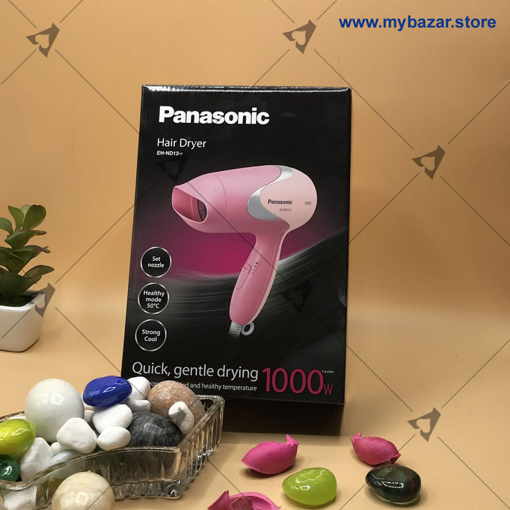 Panasonic Hair Dryer Quick Gentle Drying EH-ND12-P 1000W