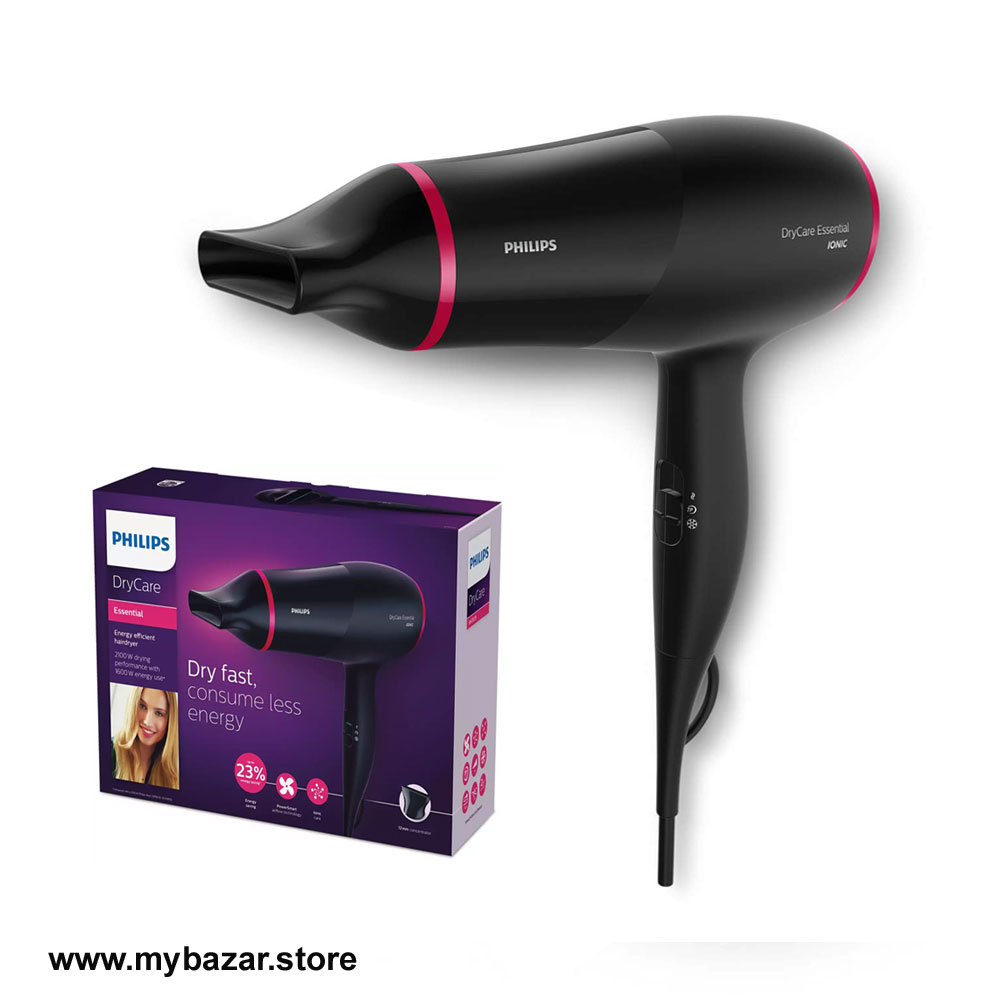 Philips Hair Dryer Dry Care Essential BHD029 1350-1600W