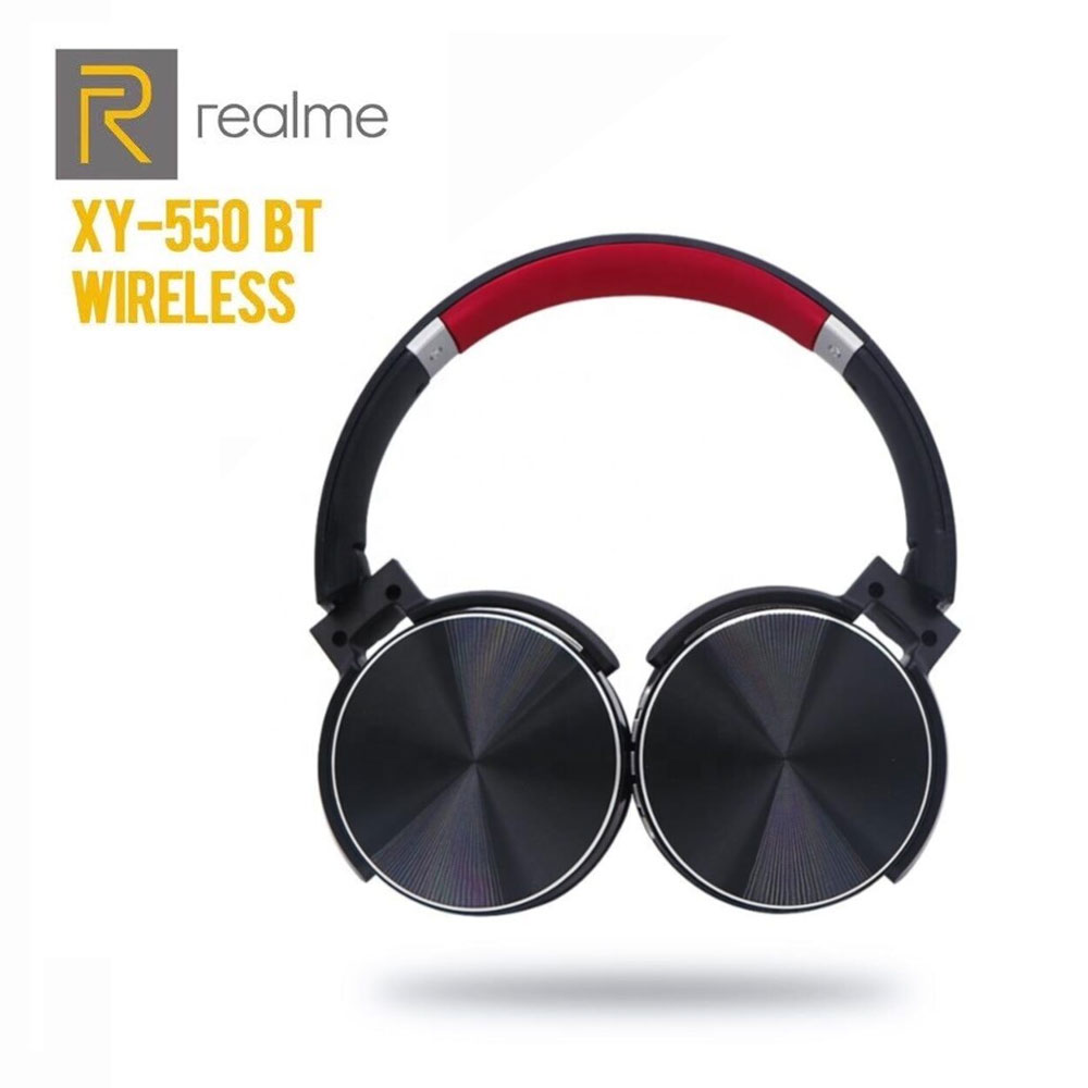 Realme Wireless Headphone Stereo Headset 550BT With Subwoofer Stereo Sports Wireless